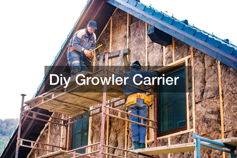 Diy Growler Carrier