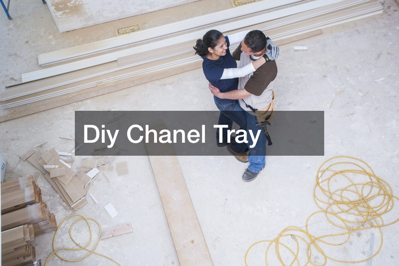 Diy Chanel Tray