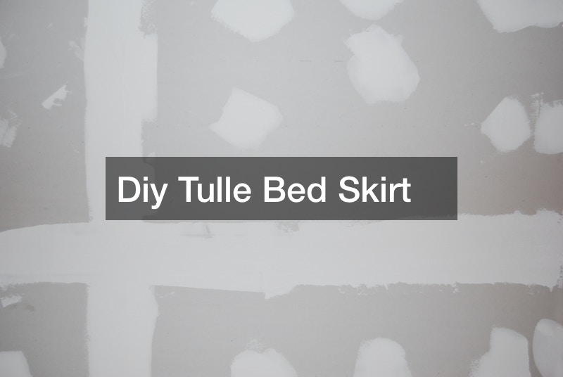 Diy Tulle Bed Skirt