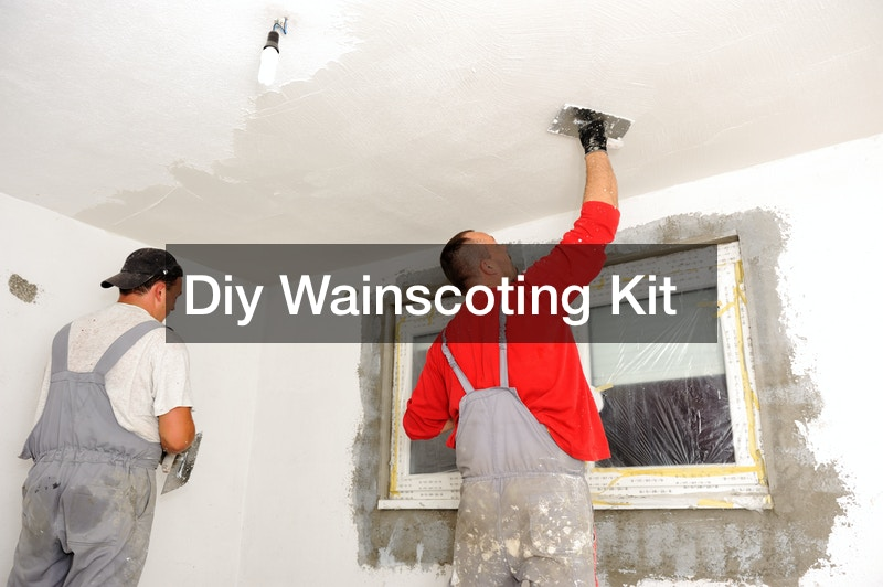 Diy Wainscoting Kit