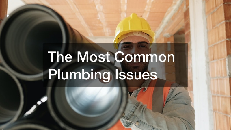 The Most Common Plumbing Issues